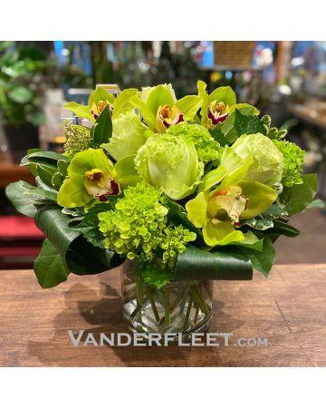 Green Elegance Floral Design